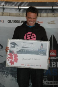 Russel Winter wint de open men